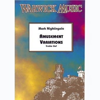 AMUSEMENT VARIATIONS treble clef