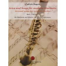 AIRS & SONGS for the Modern Clarinet Volume 1
