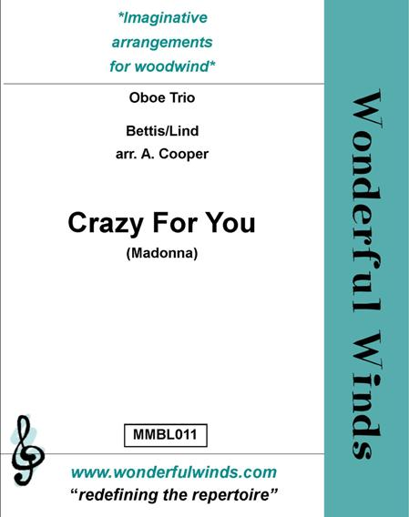 CRAZY FOR YOU score & parts