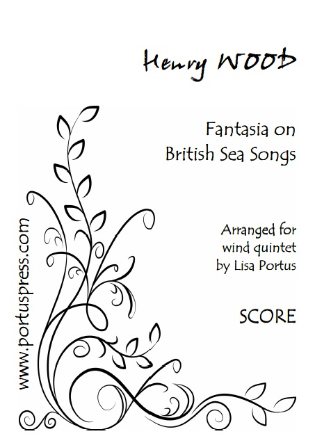 FANTASIA ON BRITISH SEA SONGS (score & parts)