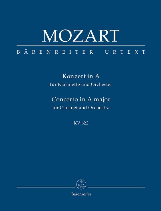 CLARINET CONCERTO in A major K622 Study Score