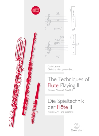 THE TECHNIQUES OF FLUTE-PLAYING Volume 2 + CD
