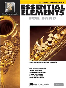 ESSENTIAL ELEMENTS Book 1 + Free Download (Alto)