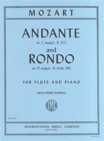 ANDANTE in C major K315 & RONDO in D major KA184