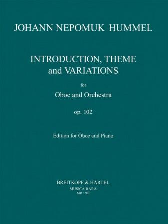 INTRODUCTION, THEME AND VARIATIONS Op.102