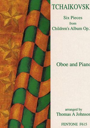 SIX PIECES from Children's Album Op.39