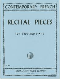 CONTEMPORARY FRENCH RECITAL PIECES