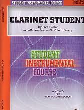CLARINET STUDENT Level 2 (Intermediate)