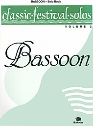 CLASSIC FESTIVAL SOLOS Volume 2 bassoon part only