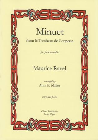 MINUET from Le Tombeau de Couperin (score & parts)