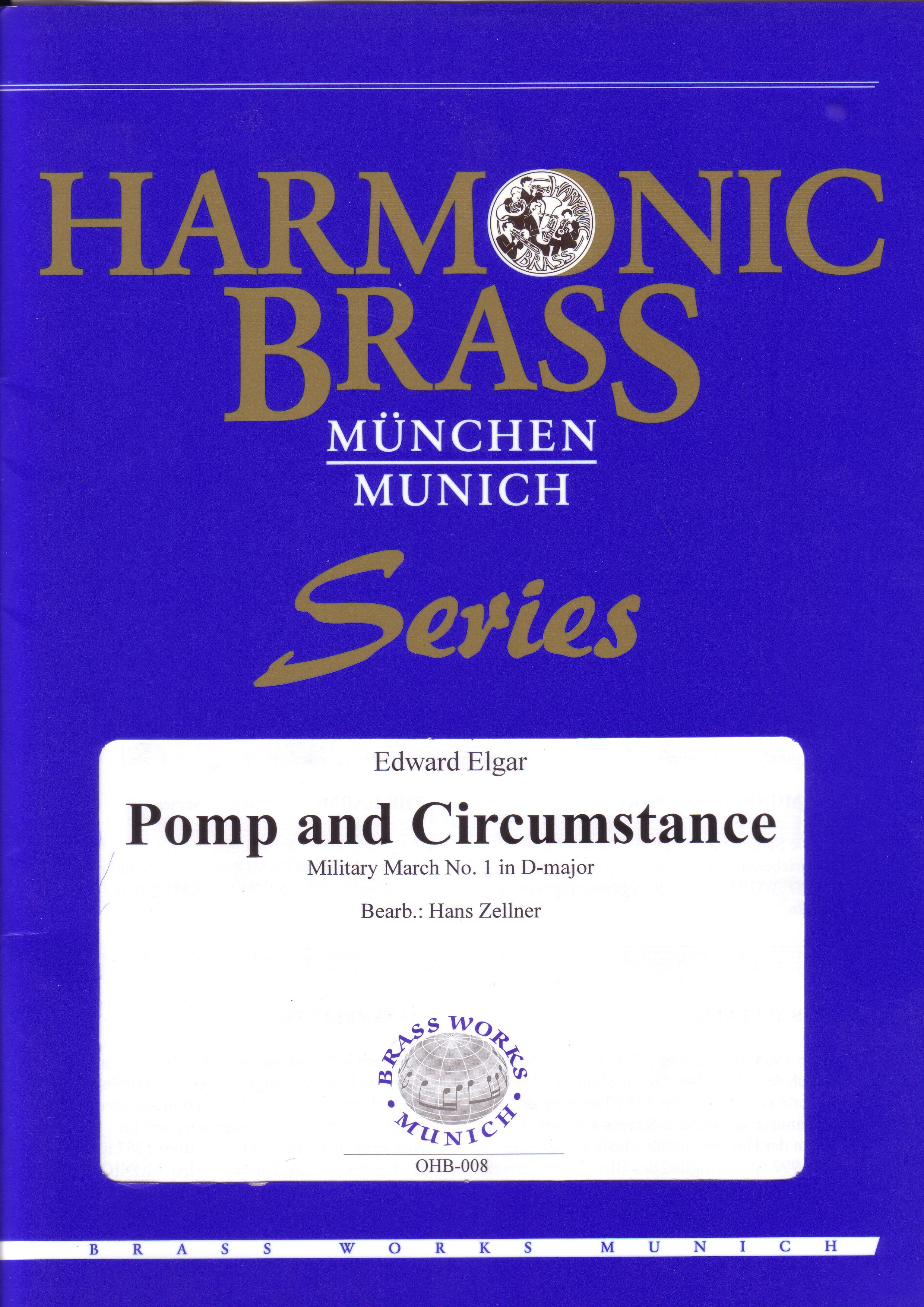 POMP AND CIRCUMSTANCE March No.1 (score & parts)