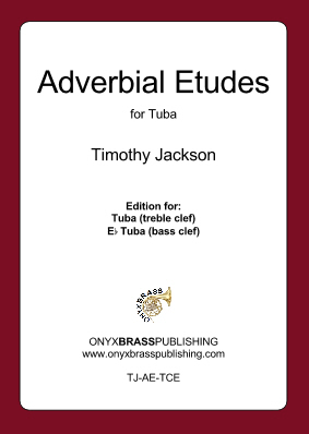 ADVERBIAL ETUDES (bass clef)