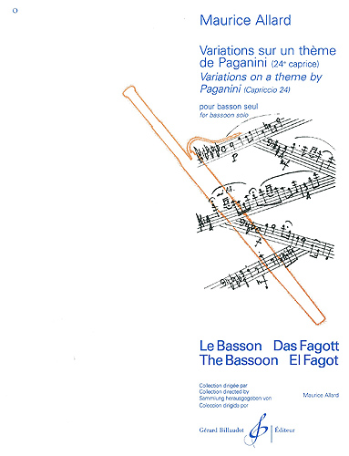 VARIATIONS ON A THEME OF PAGANINI