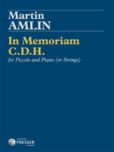 IN MEMORIAM C.D.H. (score & parts)
