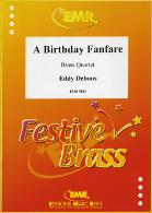 A BIRTHDAY FANFARE score & parts
