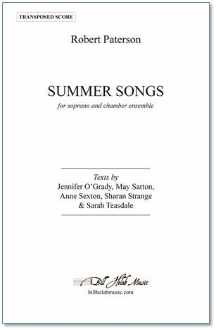 SUMMER SONGS (piano/vocal score)