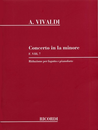 CONCERTO in A minor FVIII/7 PV72 RV497 Op.45 No.6