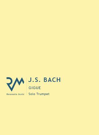 GIGUE BWV 1006