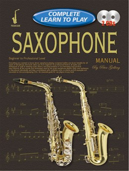 COMPLETE LEARN TO PLAY SAXOPHONE + CDs