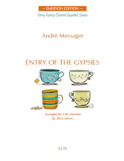 ENTRY OF THE GYPSIES score & parts
