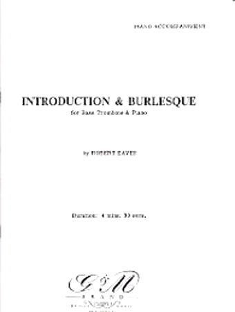 INTRODUCTION AND BURLESQUE