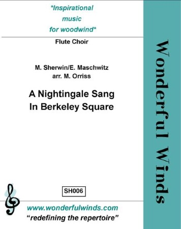 A NIGHTINGALE SANG IN BERKELEY SQUARE (score & parts)