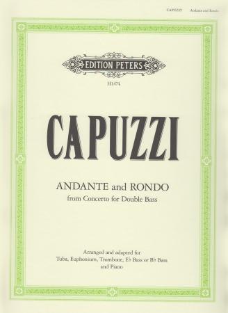 ANDANTE AND RONDO (treble/bass clef)