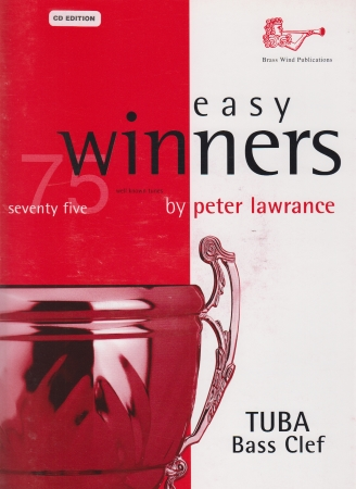 EASY WINNERS + CD Tuba Part (bass clef)