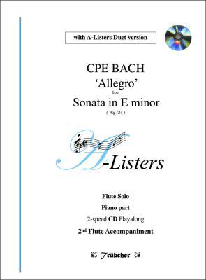ALLEGRO (2nd Movement) from Sonata in E Minor (WQ124) + CD