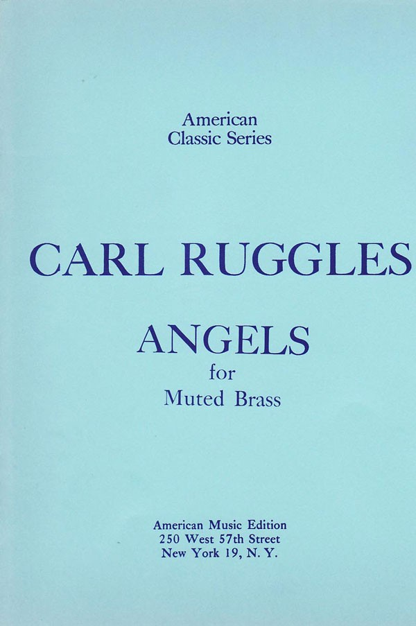 ANGELS for Muted Brass (miniature score)