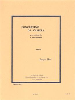CONCERTINO DA CAMERA Score
