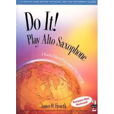 DO IT! Play Alto Saxophone Book 1 + CD
