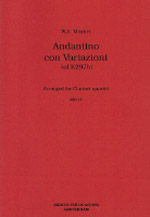 ANDANTINO CON VARIAZIONI (of K297b)