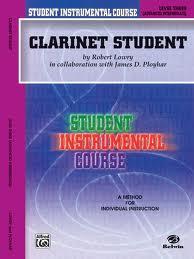 CLARINET STUDENT Level 3