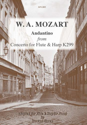 ANDANTINO from Concerto for Flute & Harp K299