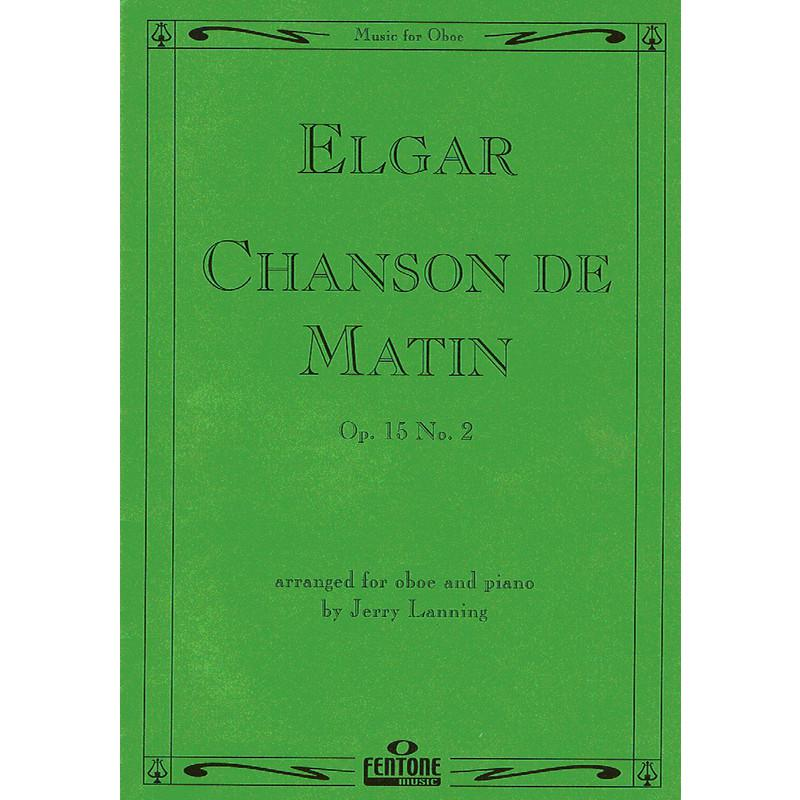 CHANSON DE MATIN Op.15 No.2