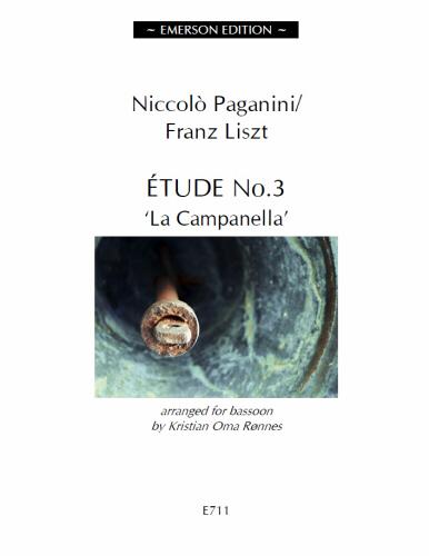 ETUDE No.3 La Campanella