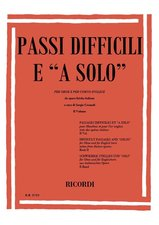 SOLOS AND DIFFICULT PASSAGES Volume 3