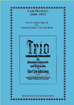TRIO in A minor Op.40