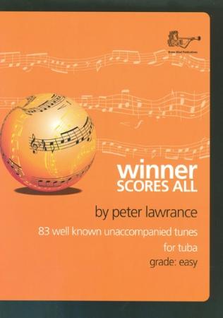 WINNER SCORES ALL + CD Tuba Part (bass clef)