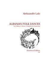 ALBANIAN FOLK DANCES score and parts