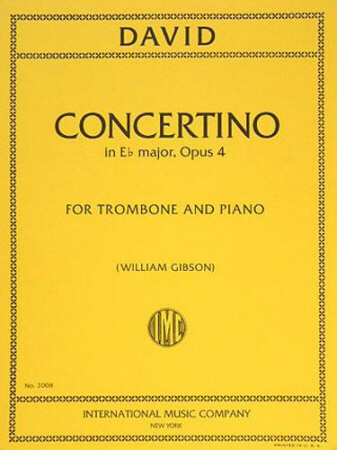 CONCERTINO in Eb major, Op.4
