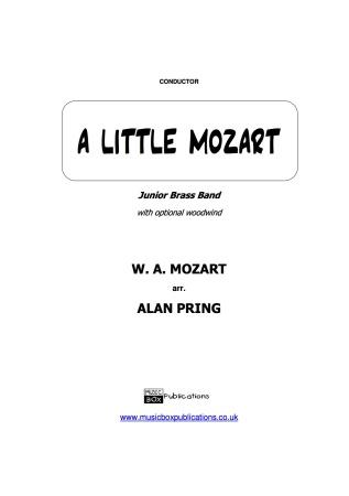 A LITTLE MOZART (score & parts)