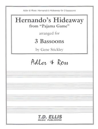 HERNANDO'S HIDEAWAY (score & parts)