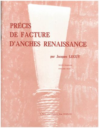 HANDBOOK OF RENAISSANCE REED-MAKING text in English/French