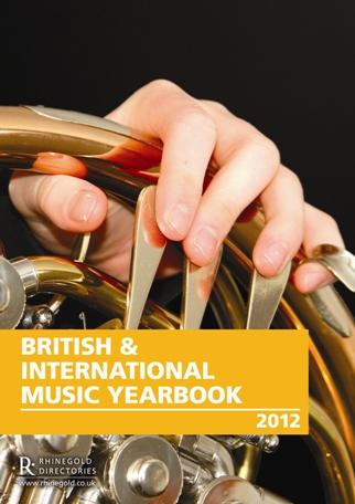 BRITISH & INTERNATIONAL MUSIC YEARBOOK 2012