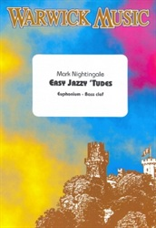 EASY JAZZY 'TUDES for Euphonium (bass clef) + CD