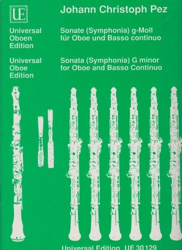 SONATA (SYMPHONIA) in g minor
