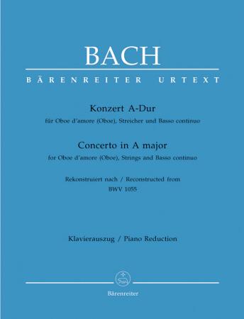 CONCERTO in A major BWV1055