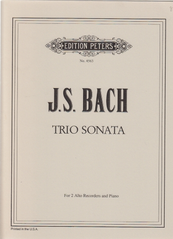 TRIO SONATA in Bb